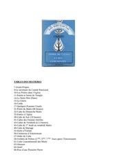 ordre de cultes et ceremonies