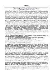 lefrancaispourtous manifeste