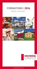 rockwool campus catalogue formations 2016