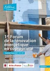 16 juin forum renovation copropriete 91 evry