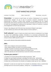 offre cmo monmentor fr
