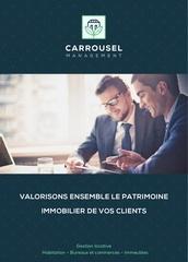 carrousel management plaquette partenaire reduite