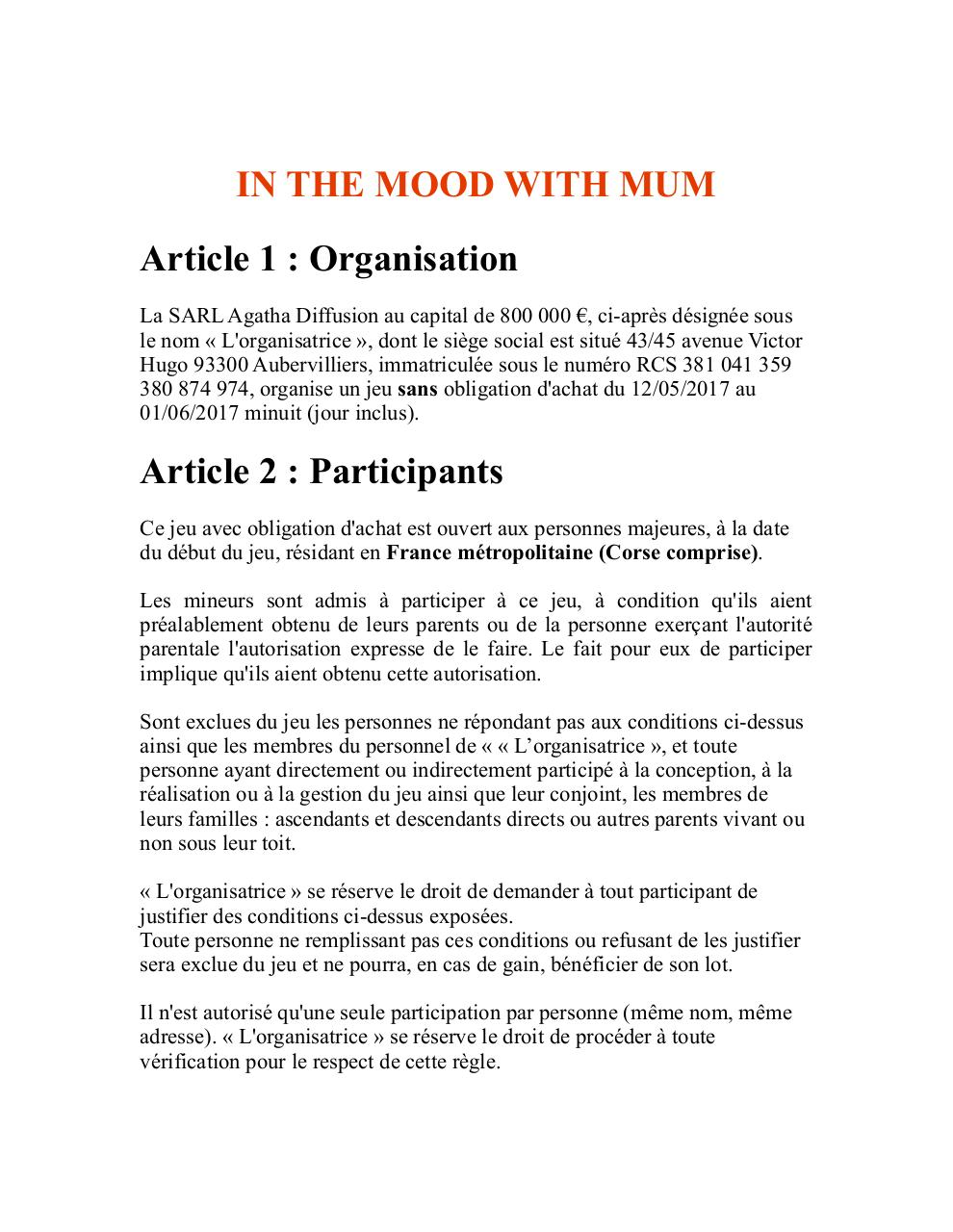 Aperçu du document ReĚglement IN THE MOOD WITH MUM  rectifié - copie.pdf - page 1/10