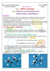 cours 1 hydrocarbures aliphatiques