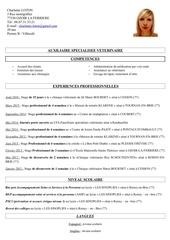 Fichier PDF cv loton charlaine