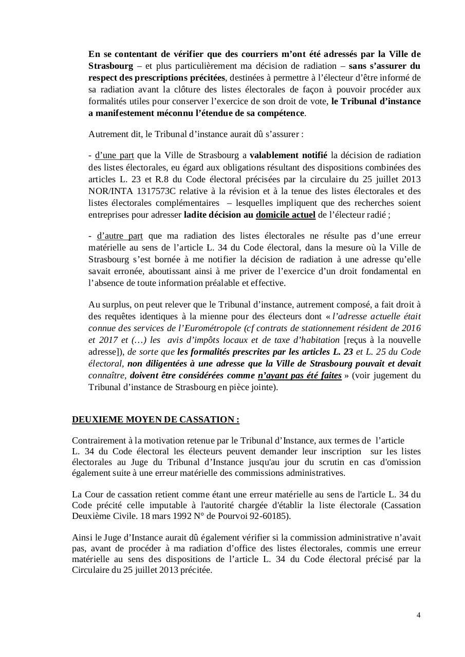 Modele Pourvoi En Cassation A Deposer Au Greffe Du Ti Par Les Radies