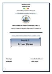 tp services reseaux