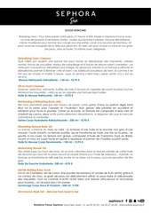 descriptif produits good skincare summer 2017