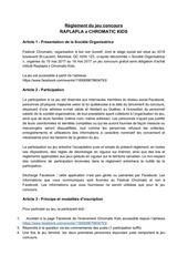 Fichier PDF re glement jeux concours raplapla