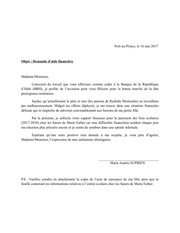 Fichier PDF lettre brh