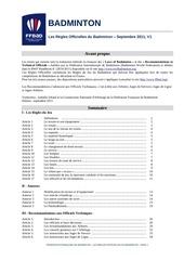 regles officielles 2011 v2011 2012