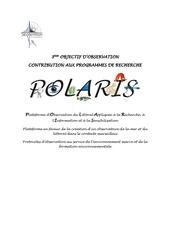 se catalogue polaris programmes de recherche