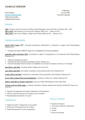 Fichier PDF camille berger cv2