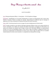 Fichier PDF fiche massage ebene