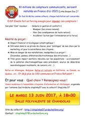 affiche soiree linky du 13 juin 2017
