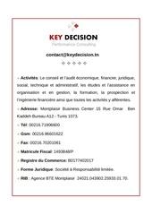 mentions legales key decision