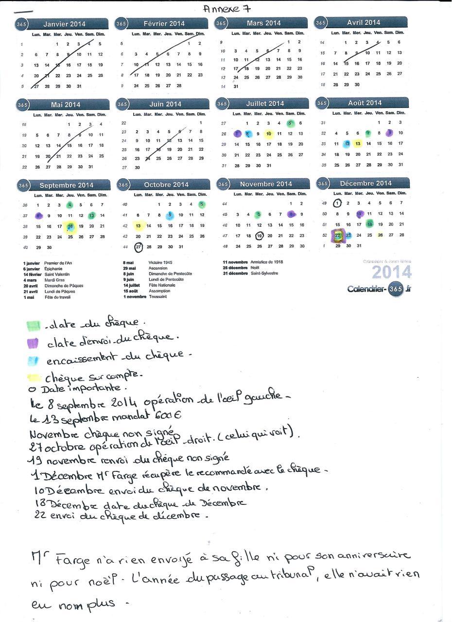 Calendrier Pension.Annexe7 Calendrier Des Versement De La Pension Fichier Pdf