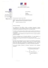 Fichier PDF attestattions diverses