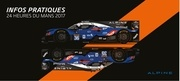 alpine guide pratique vip alpine 24h du mans 2017