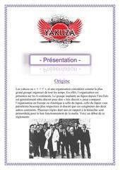 candidature chef de faction yakuza
