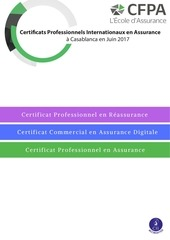 certificats professionnels internationaux en assurance