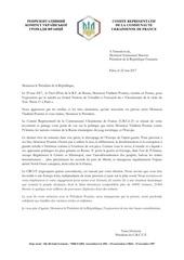lettre au pre sident