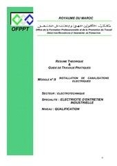 m09 installation de canalisations electriques ge eei