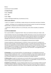 candidature pour smod