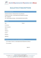Fichier PDF bulletin d inscription auditeur libre cso auditeur libre