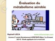 Fichier PDF evaluation du metabolisme aerobie tests d effort