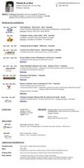 Fichier PDF cv ibackpacker thibault