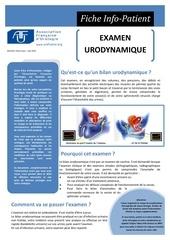 examen urodynamique 1