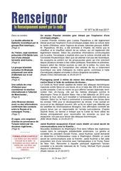 revue de presse contractor du 28 mai