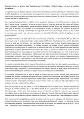 critique sujet brevet sciences