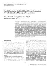 kinnish et al 2005