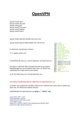 Fichier PDF openvpn