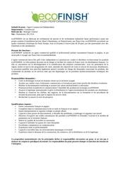 Fichier PDF proposition contrat ecofinish agent commercial france