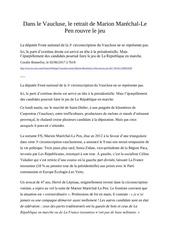 Fichier PDF dans le vaucluse