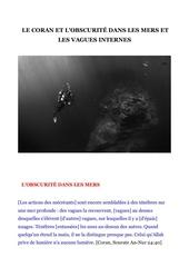 le coran et l obscurite dans les mers et les vagues internes