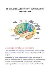 le coran et la rEgion qui contr le nos mouvements