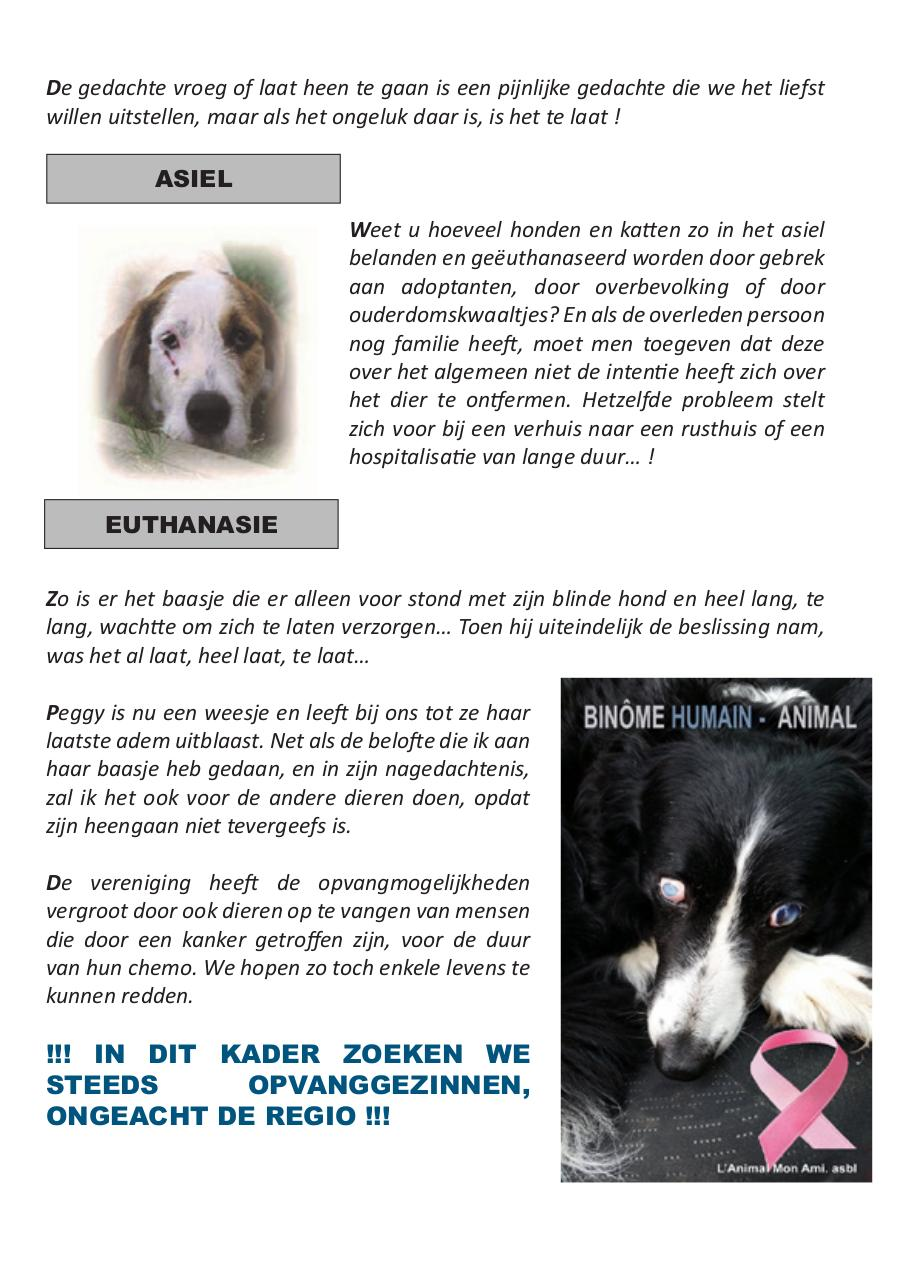 Binome Humain Animal Nl Fichier Pdf