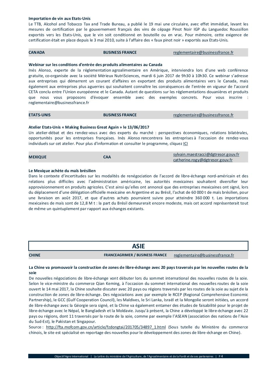 Objectif Agro International N 7  2017 Juin.pdf - page 4/15