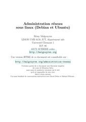 Fichier PDF administration reseau