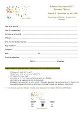 bulletin d inscription journees pepites 9 dec 2017