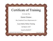 Fichier PDF certification