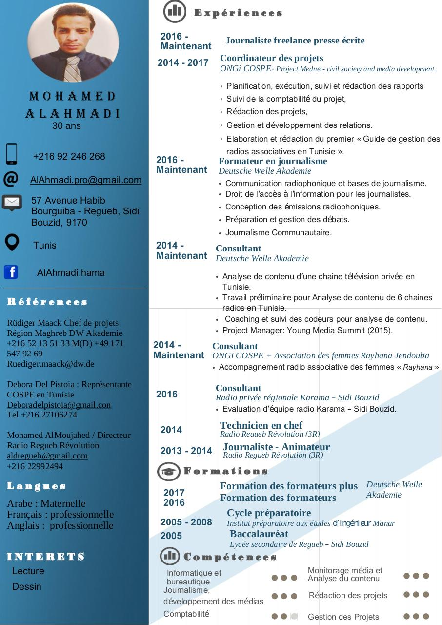 Aperçu du document CV Mohamed AlAhmadi 2017 - fr.pdf - page 1/1