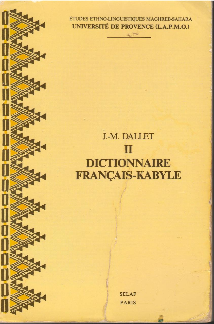 DALLET. FRANCAIS-KABYLE.pdf - page 1/278