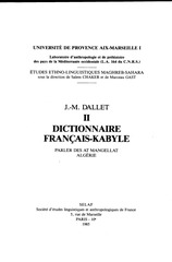 DALLET. FRANCAIS-KABYLE.pdf - page 4/278