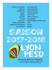 lyon pesd plaquettes 2017 2018