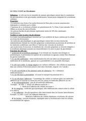 Fichier PDF fonction du cell coat
